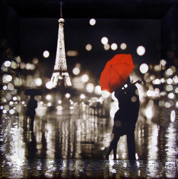 Картина Dekart Ночная прогулка 1, 61,5 х 61,5 х 2 см ночная прогулка на чоппере