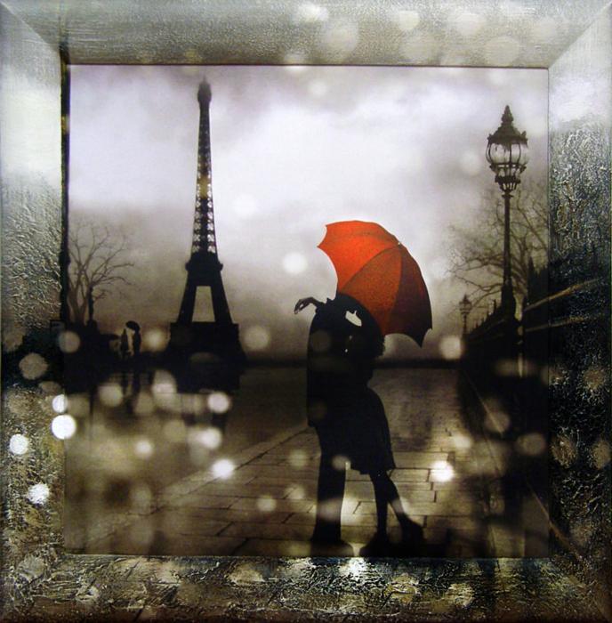 Картина Dekart Ночная прогулка 2, 61,5 х 61,5 х 2 см ночная прогулка на чоппере