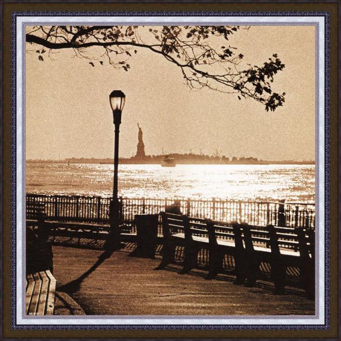 "Картина Dekart ""Прогулка по парку"", 50,5 х 50,5 х 2 см"