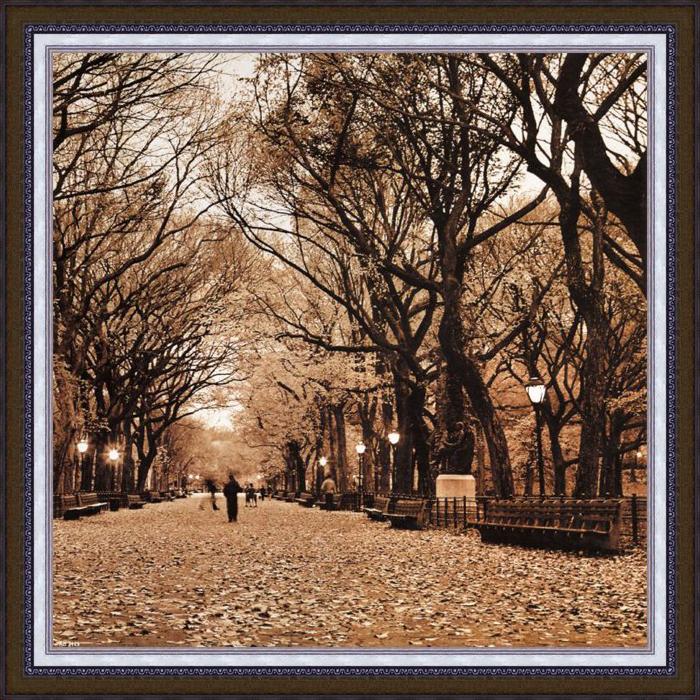 """Картина Dekart """"Осенний парк"""", 50,5 х 50,5 х 2,5 см"""