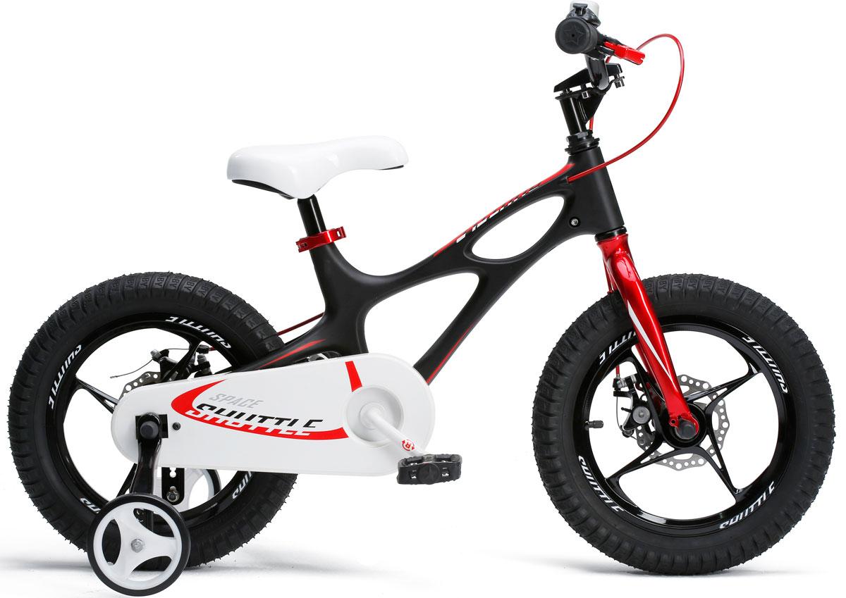 Велосипед Royal Baby Space Shuttle 16, цвет: черный велосипед royal baby space no 1 alloy 16 чёрный