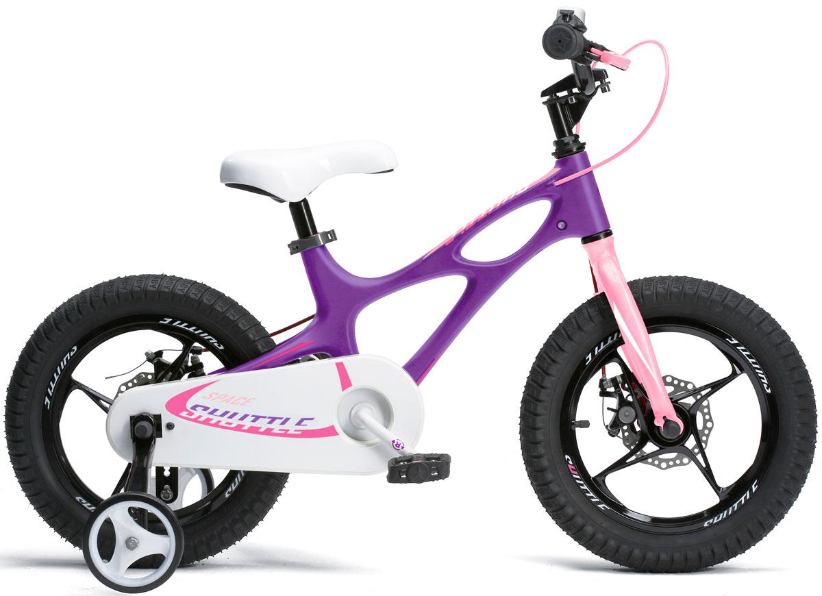 Велосипед Royal Baby Space Shuttle 14, цвет: фиолетовый