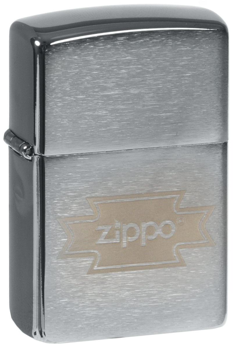 Зажигалка Zippo Zippo, цвет: серебристый, 3,6 х 1,2 х 5,6 см. 35847