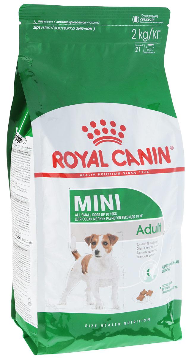 """Корм сухой Royal Canin """"Mini Adult"""" для собак мелких пород, 2 кг"""