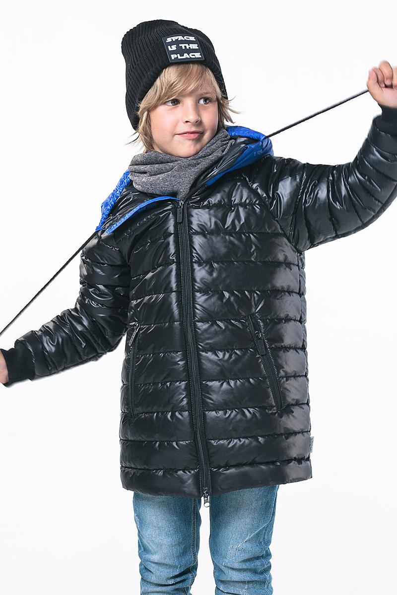 Пуховик Boom! пальто для мальчика boom цвет хаки 80547 bob размер 122