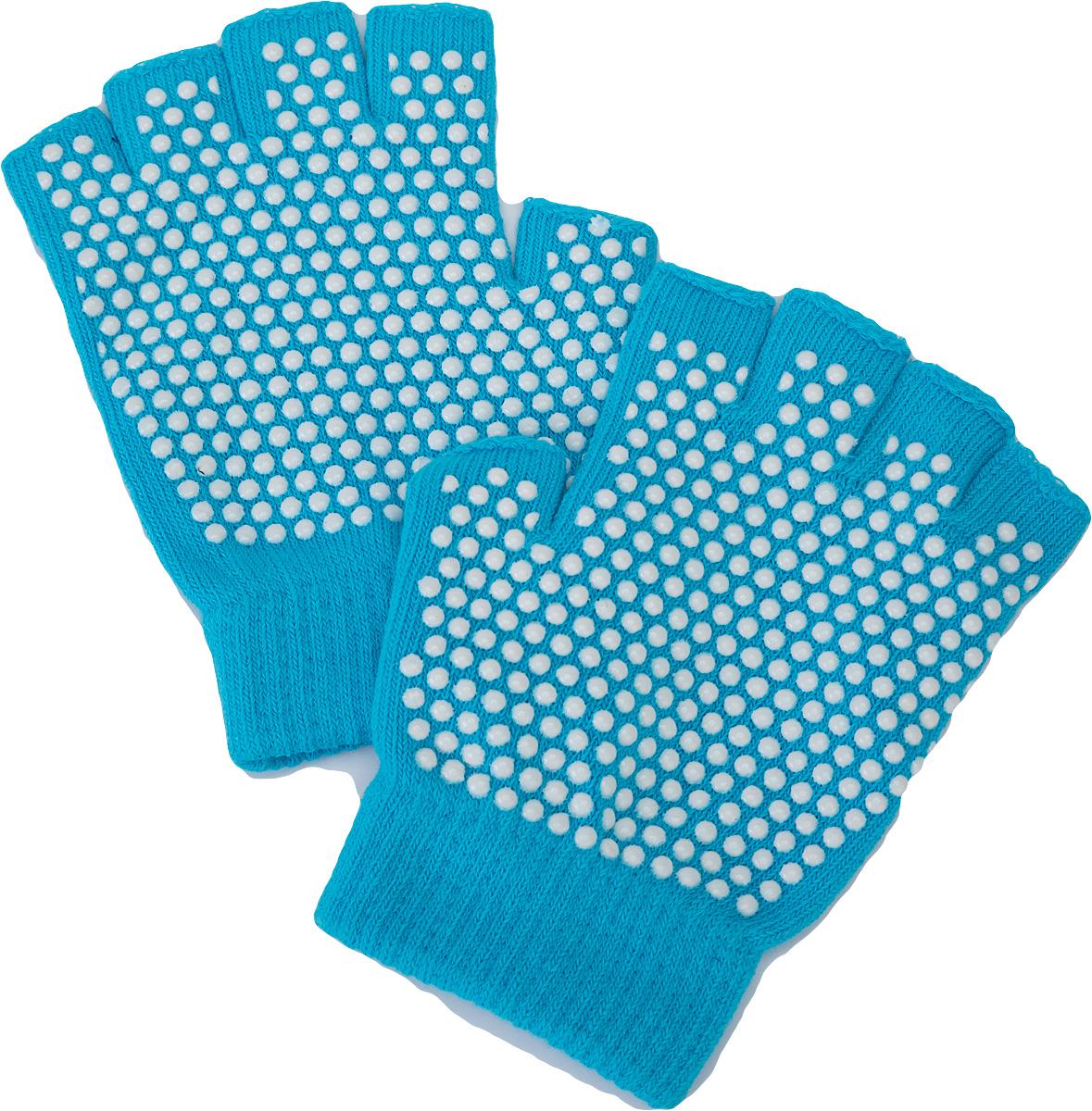 цена Перчатки для йоги Bradex, цвет: бирюзовый. SF 0277. Размеры 14 х 11 х 4 см онлайн в 2017 году