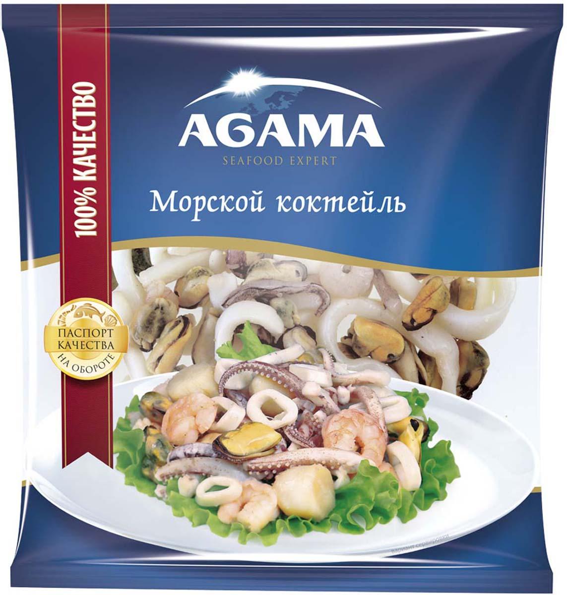 AgamaМорской коктейль, сыромороженый, 300 г Agama