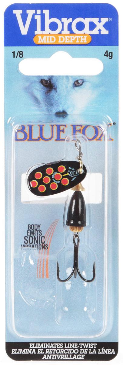 Блесна вращающаяся BlueFox, 4 г. BFS1-BYR