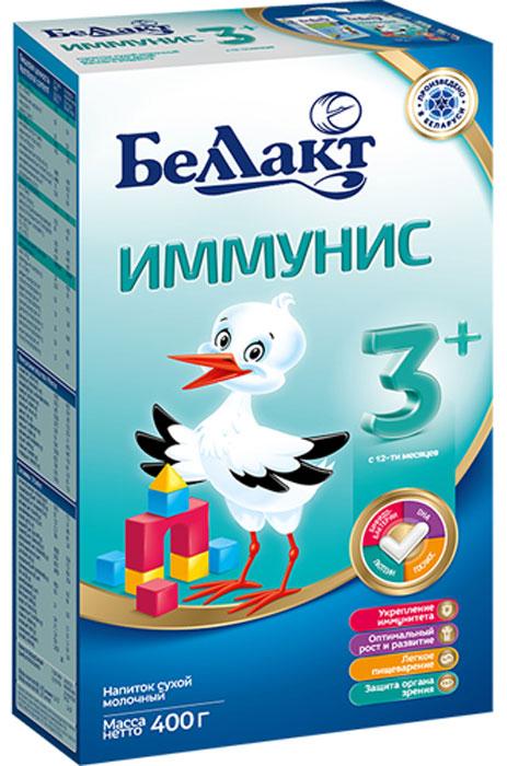 Беллакт Иммунис 3+ смесь молочная сухая с 12 месяцев, 400 г беллакт плюс смесь молочная сухая с 12 месяцев 400 г