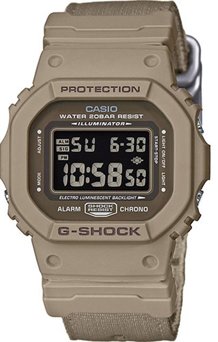 Фото - Часы наручные мужские Casio G-Shock, цвет: коричневый. DW-5600LU-8E наручные часы casio g shock dw 5600m 4e