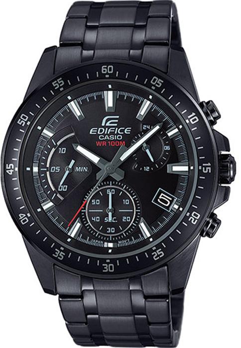 Часы наручные мужские Casio Edifice., цвет: черный. EFV-540DC-1A мужские часы casio efv 570d 1a