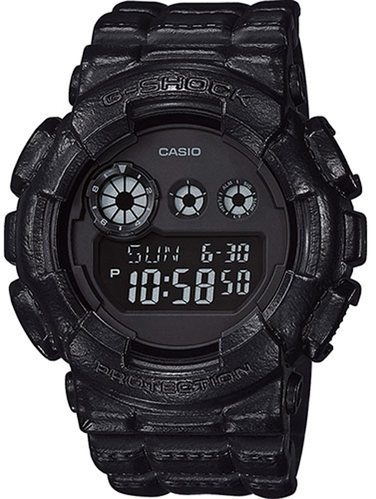 Часы наручные мужские Casio G-Shock, цвет: черный. GD-120BT-1E casio часы casio gd 120mb 1e коллекция g shock
