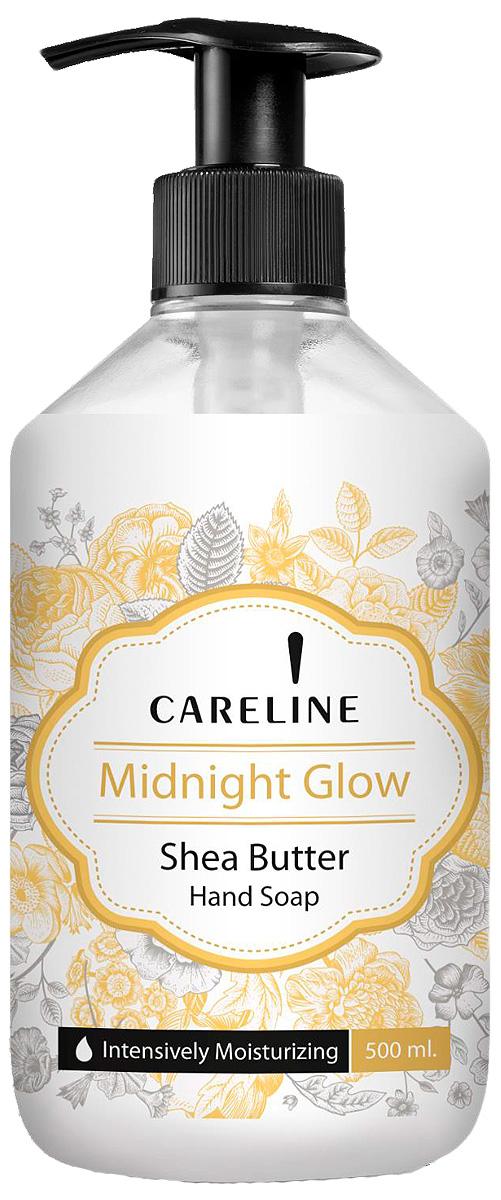 Careline Жидкое мыло для рук Сияние с ароматом масла ши, 500 мл мыло с колд кремом авен