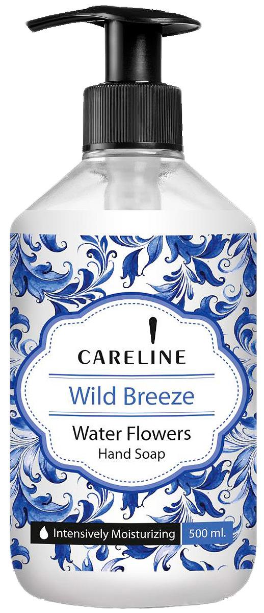 Careline Жидкое мыло для рук Морской бриз с ароматом водяной лилии, 500 мл мыло с колд кремом авен