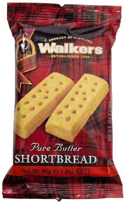 Печенье песочное пальчики Walkers, 40 г печенье песочное пальчики walkers 40 г