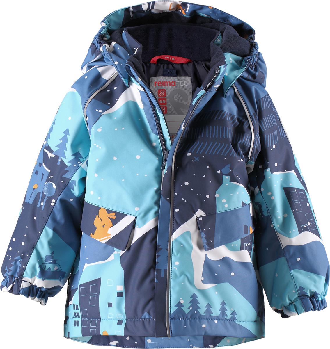 Купить Комплект верхней одежды для мальчика Reima Reimatec Mjuk, цвет: синий. 5131196795. Размер 86 на XWAP.SU