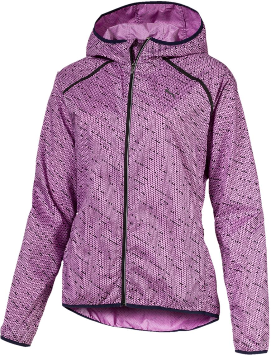 Ветровка PUMA LastLap Graphic Jacket W ветровка женская puma lastlap graphic jacket w цвет розовый 51666703 размер xl 48 50