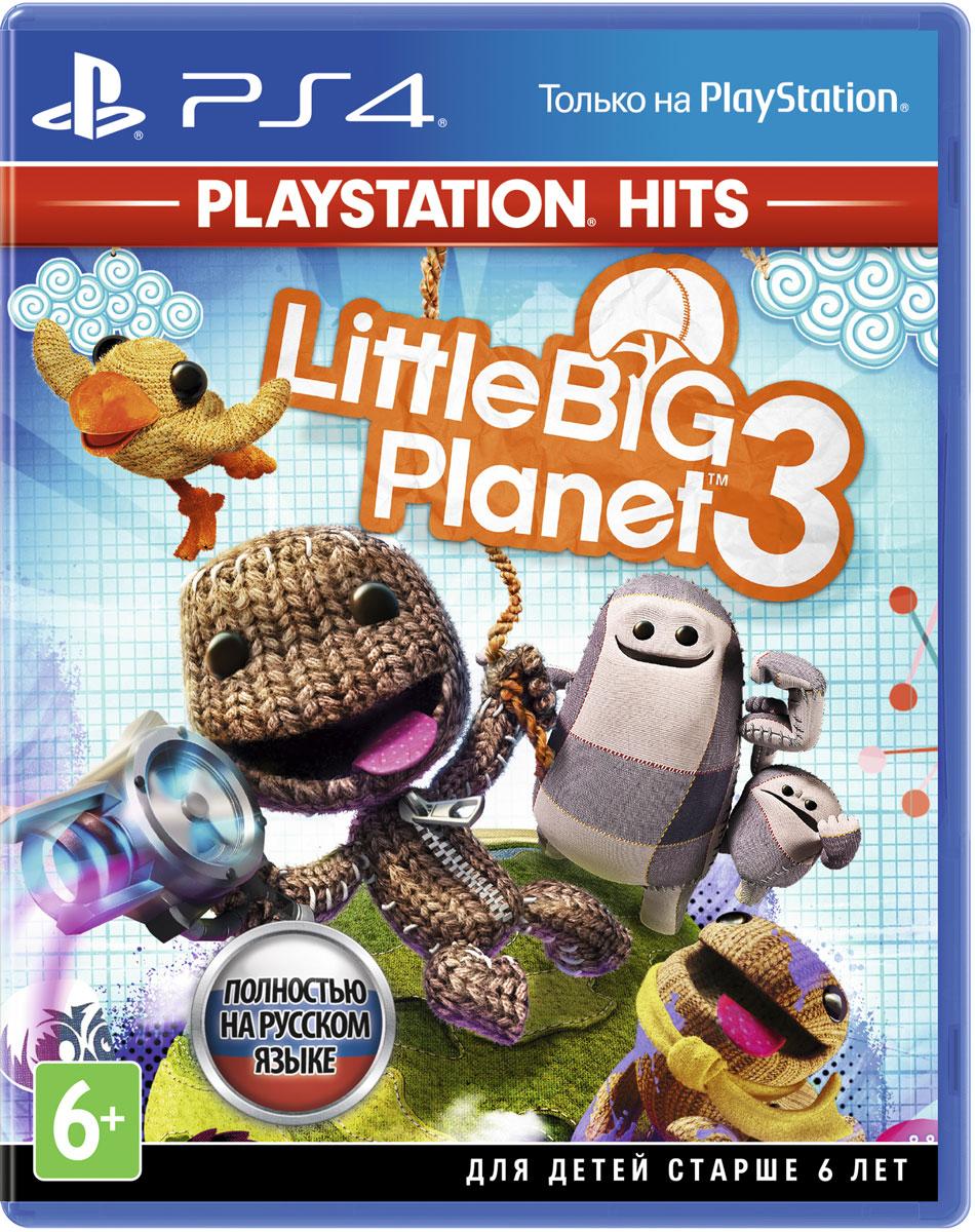 Игра LittleBigPlanet 3 (Хиты PlayStation) для PS4 Sony цена