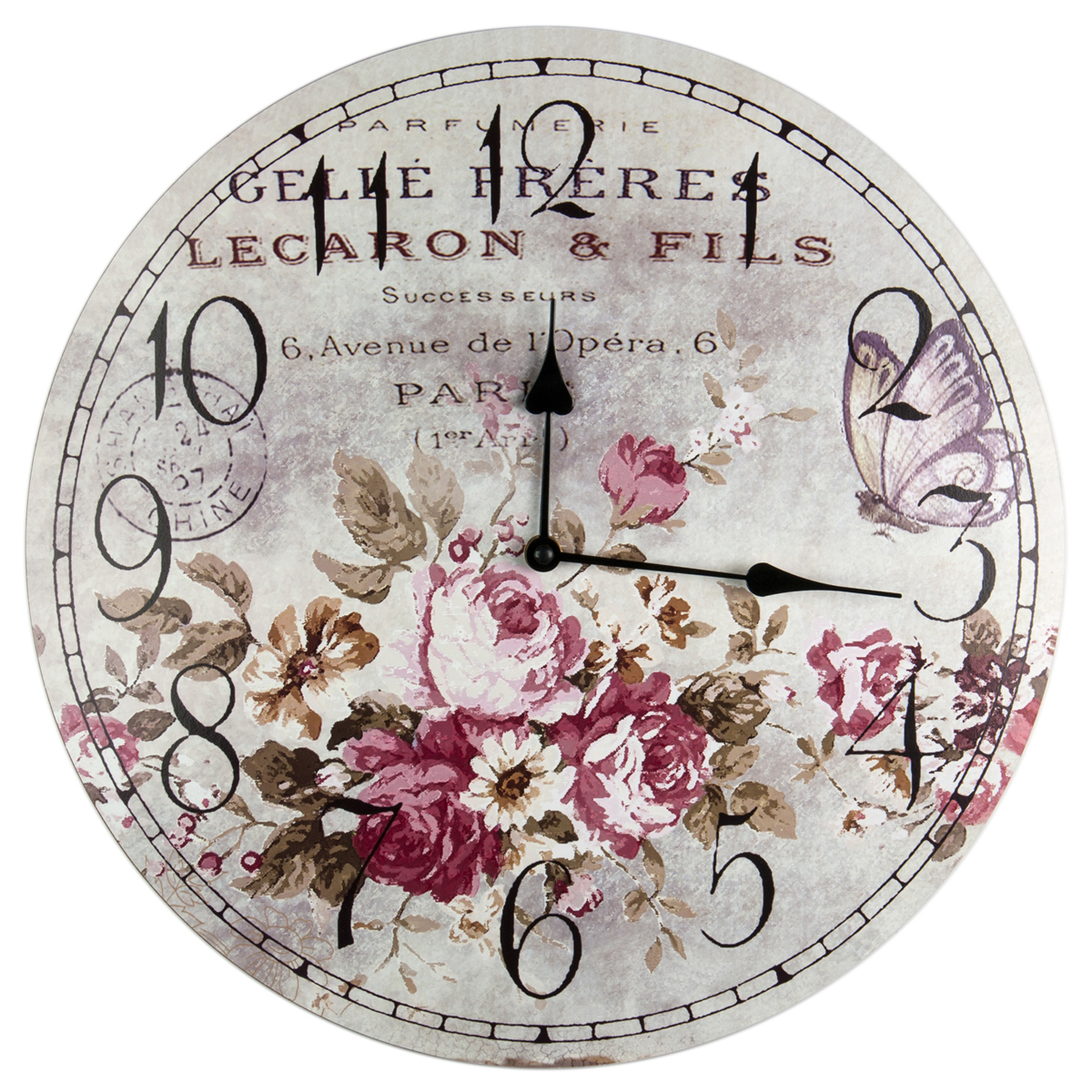 Часы настенные Miralight, 39 x 39 см. MC-673 meinl mc pts 12 x 12