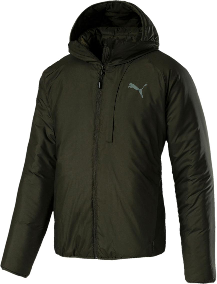 Куртка PUMA WarmСell Padded Jacket stand collar zip up geometric camo padded jacket