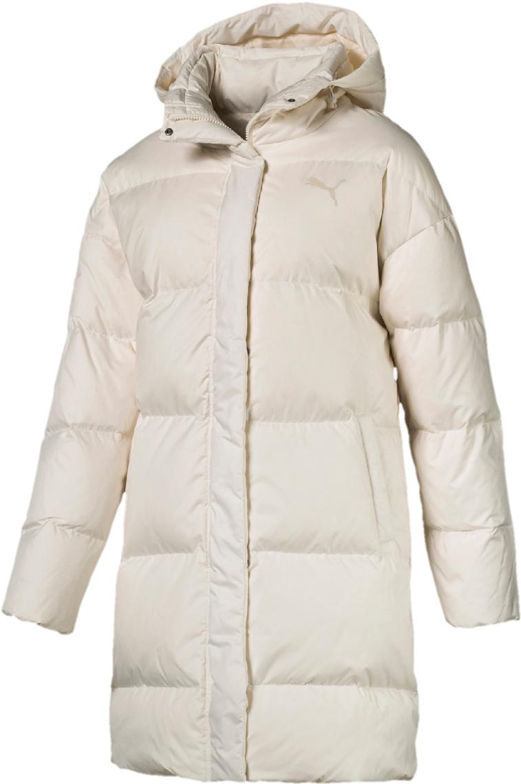 Пальто женское Puma 450 Down Hd Coat, цвет: молочный. 85168411. Размер S (42/44)85168411