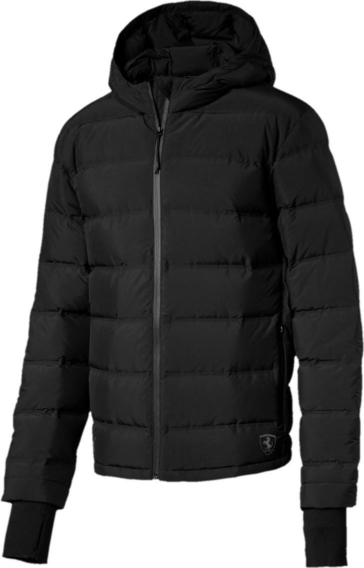 Пуховик PUMA Ferrari Down Jacket пуховик мужской puma ferrari down jacket цвет черный 57667402 размер s 44 46