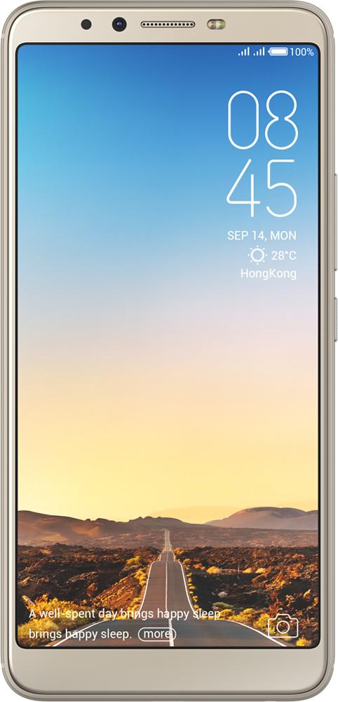 Отзывы на Смартфон Tecno Camon X CA7 32 GB, золотой от