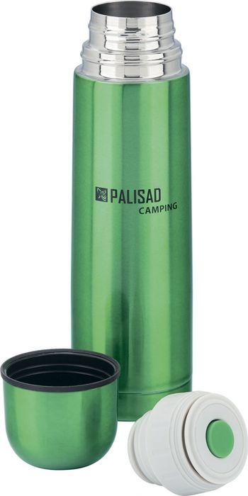 Термос с клапаном Palisad Camping, с клапаном, цвет: зеленый, 500 мл термос с клапаном palisad camping с клапаном цвет зеленый 500 мл