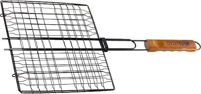 Решетка-гриль Palisad Camping, антипригарная, 24 х 27 см решетка гриль palisad camping хромированная 34 х 22 см
