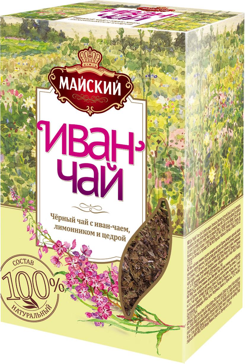 Майский чай Иван-чай с лимонником и цедрой, 75 г иван чай с облепихой русский чай 75 г