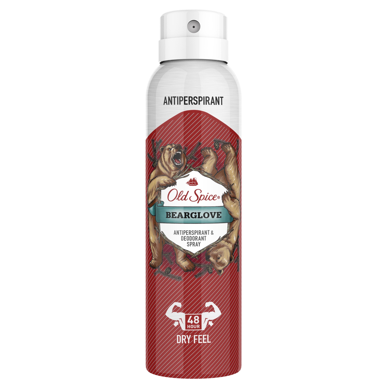 Дезодорант-антиперспирант аэрозольный Old Spice Bearglove, 150 мл
