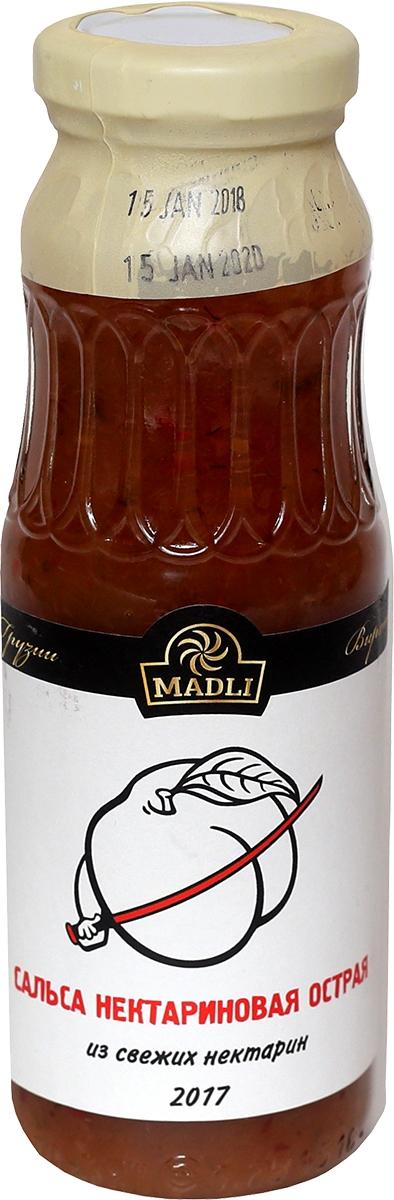 Соус сладко-острый Сальса нектариновая острая Madli, 270 г цена