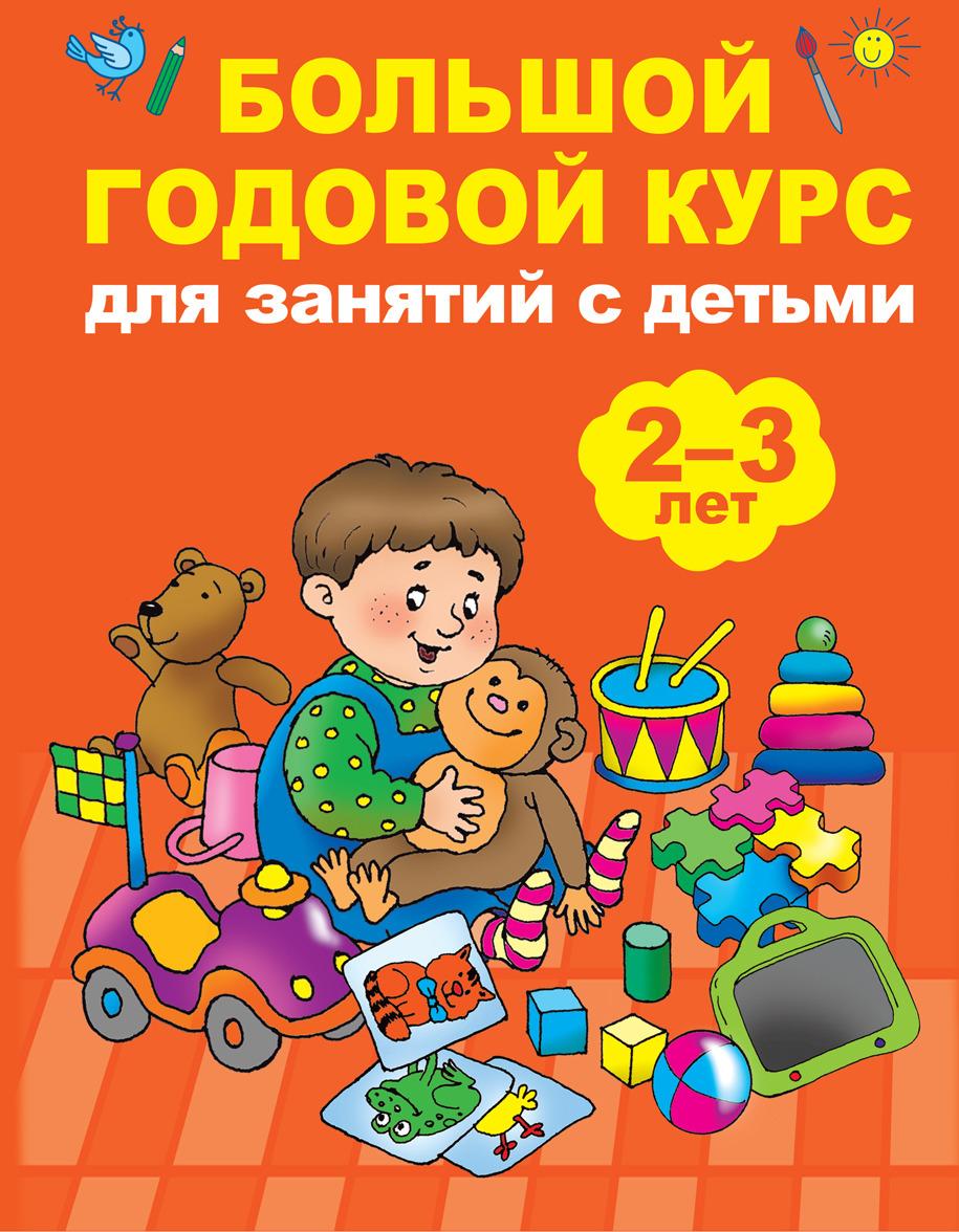Мария Малышкина Большой годовой курс для занятий с детьми 2-3 года малышкина мария викторовна полный годовой курс занятий для детей 2 3 лет