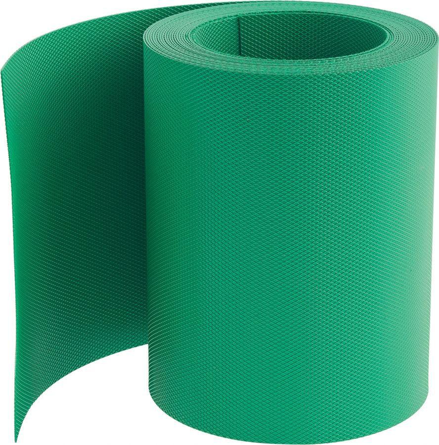 """Бордюр садовый """"Palisad"""", цвет: зеленый, 15 см х 9 м. 64476"""