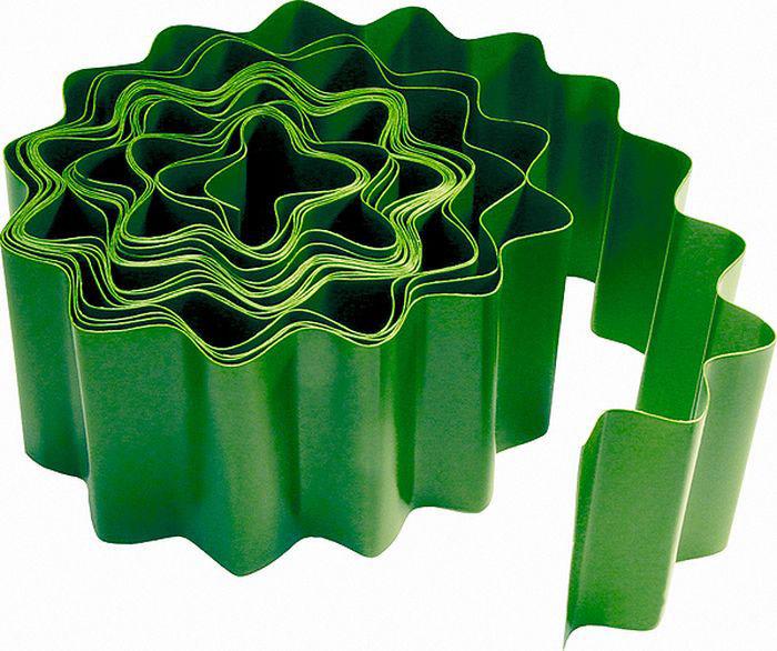 цена на Бордюр садовый Palisad, цвет: зеленый, 15 см х 9 м