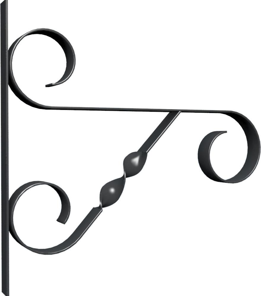 Кронштейн для крепления подвесных корзин Palisad, настенный кронштейн декоративный грин бэлт петух для подвесных кашпо