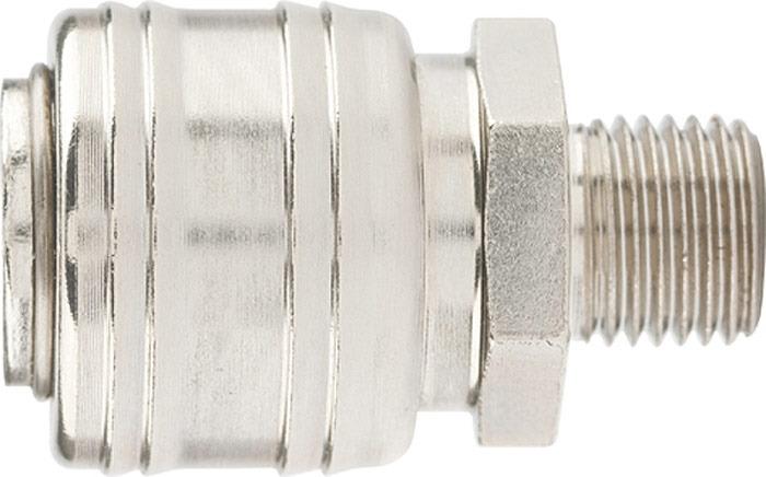 Адаптер поливного шланга Stels, универсальный. 57057 адаптер поливного шланга grinda внешний 8 426302 z01