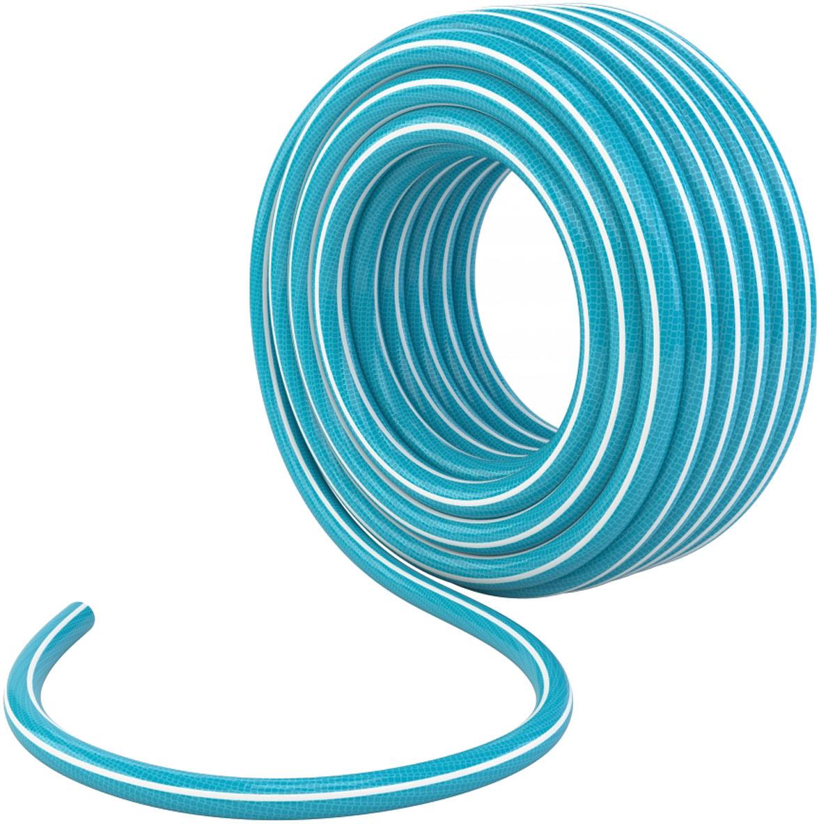 Шланг поливочный Palisad, цвет: голубой, 4 слойный 1/2, длина 25 м. 67636 ножницы palisad 60573