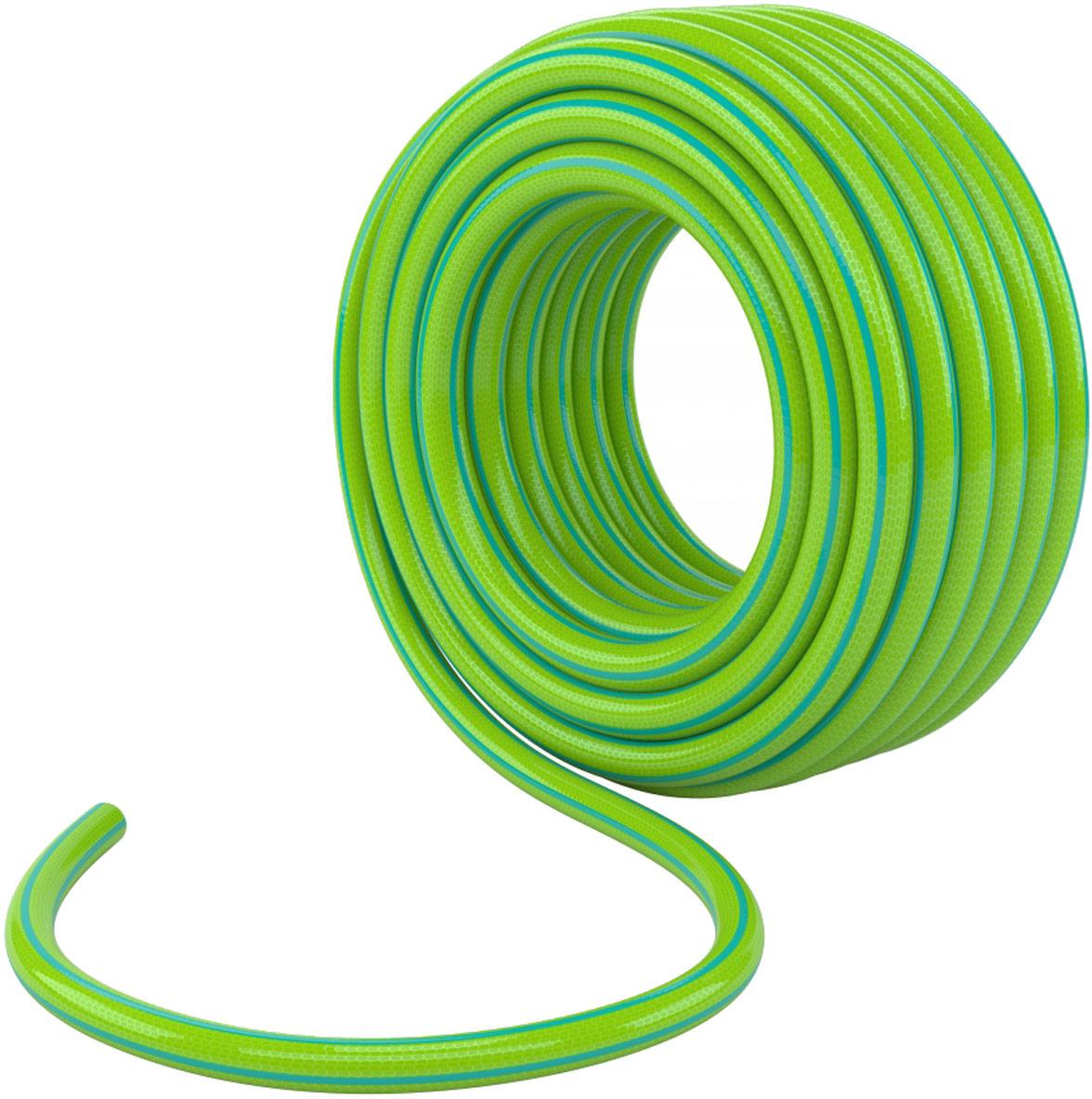 Шланг поливочный Palisad, цвет: зеленый, длина 15 м. 67641 ножницы palisad 60573