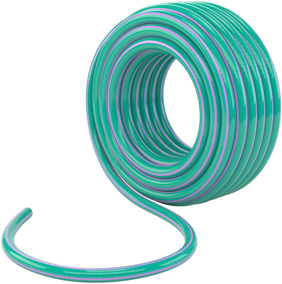 Шланг поливочный Palisad, цвет: зеленый, длина 25 м. 67651 ножницы palisad 60573
