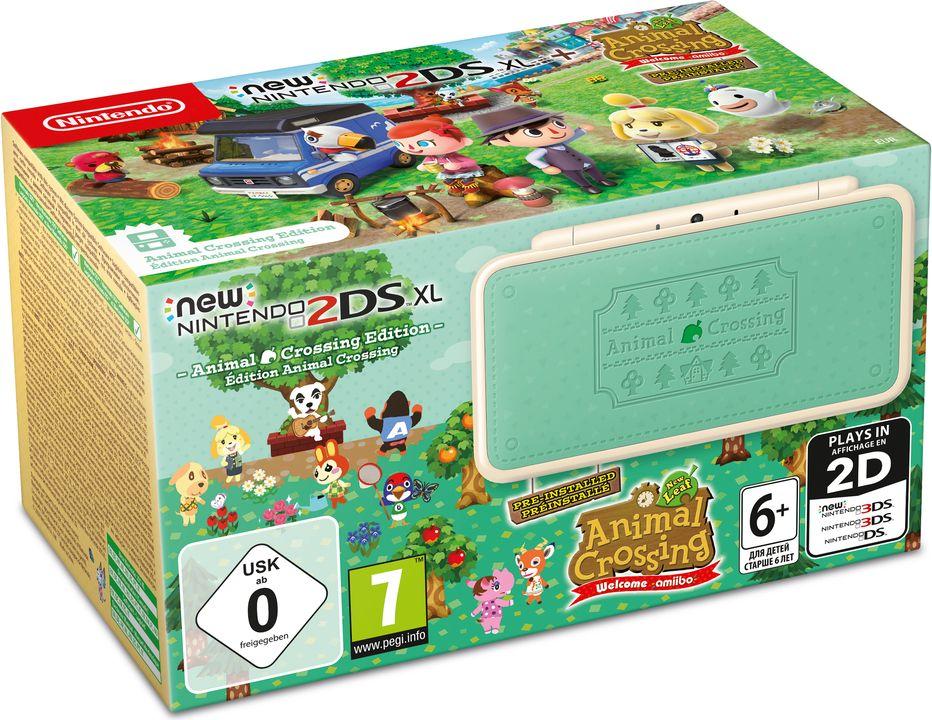 New Nintendo 2DS XL Animal Crossing Edition, Gray портативная игровая приставка стоимость