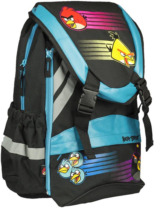 Angry Birds Рюкзак детский цвет черный голубой ABBB-UT2-508 рюкзак спортивный adidas цвет черный cf9008