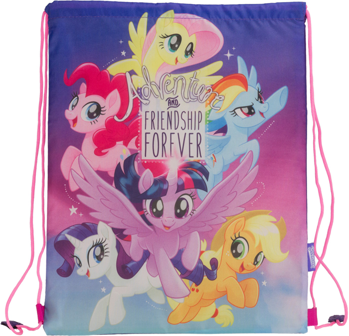 цена My Little Pony Сумка для сменной обуви цвет фиолетовый MPFB-RT2-883 онлайн в 2017 году