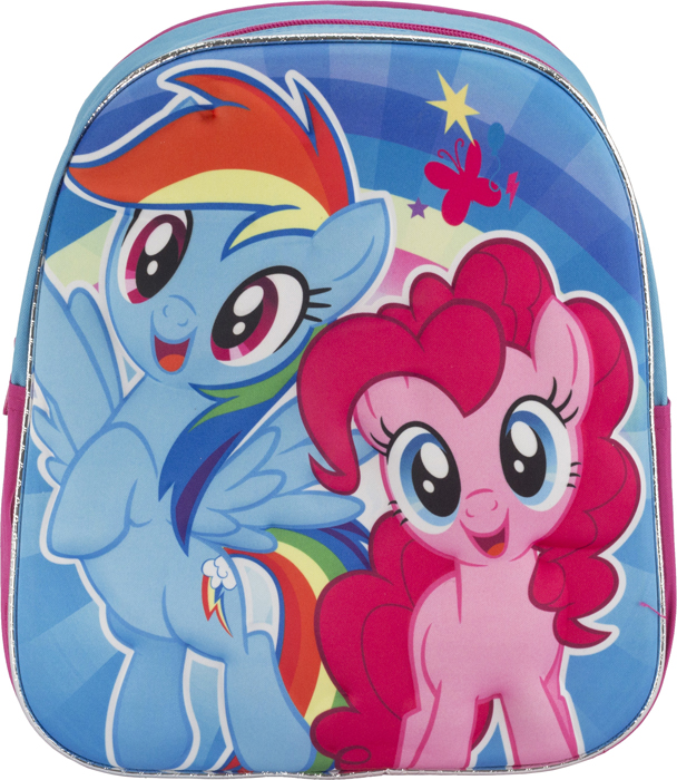 My Little Pony Рюкзак дошкольный цвет розовый голубой MPFP-UT1-E195 eva snow little little poetry