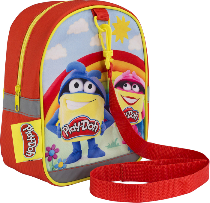 Play-Doh Рюкзак дошкольный цвет желтый PDEB-UT1-707