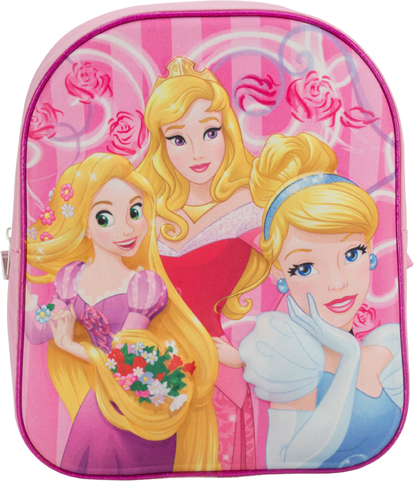 Princess Рюкзак дошкольный цвет розовый PRDA-UT1-E195