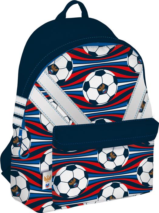 РФС Рюкзак детский цвет синий красный белый RFFB-MT1-502