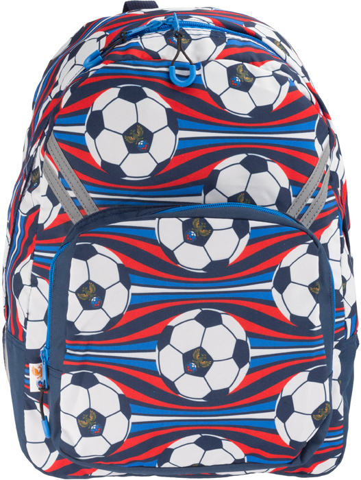 РФС Рюкзак детский цвет синий красный белый RFFB-MT1-922 рфс рфс p990301 16b