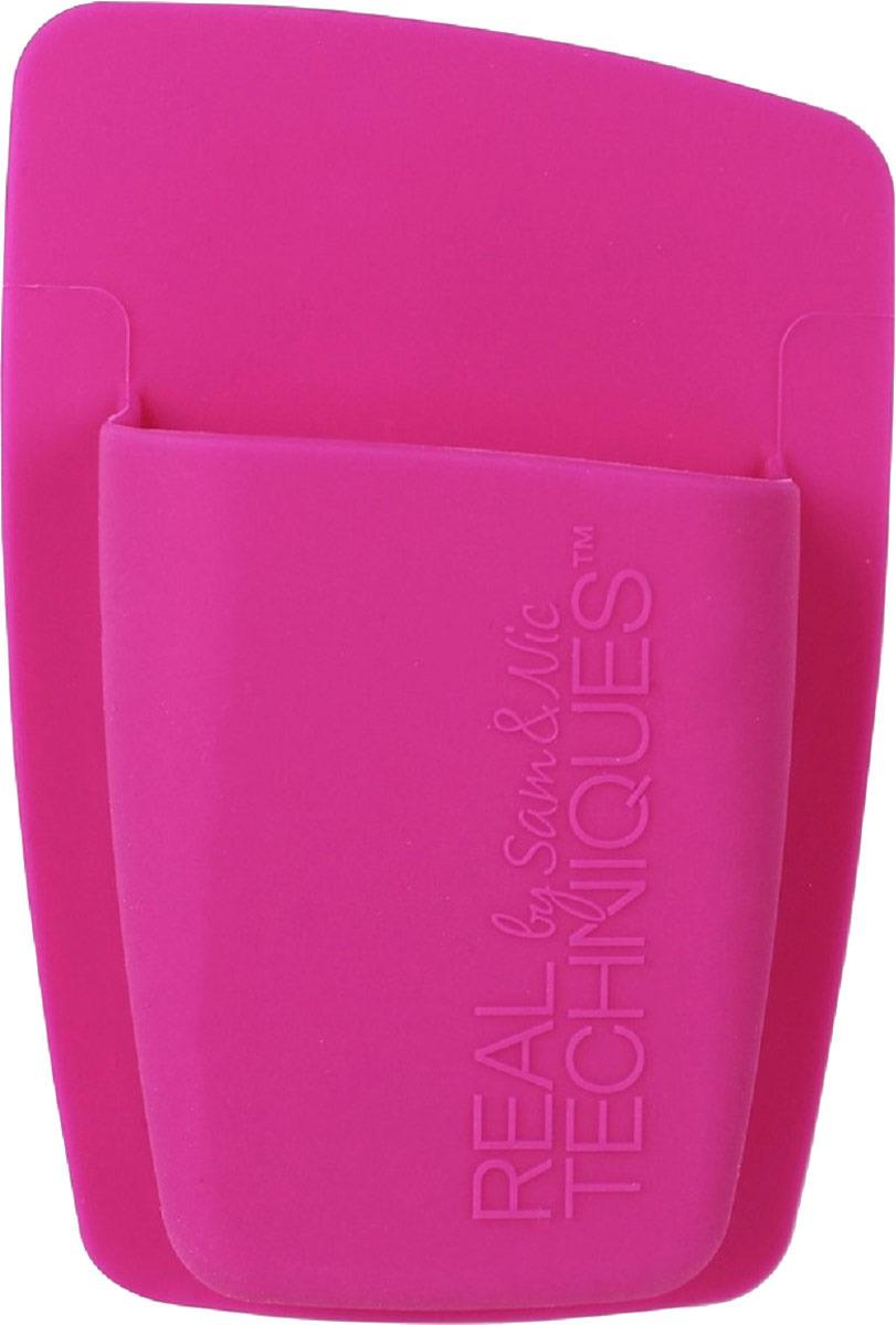 Real TechniquesОрганайзер для хранения кистей Single Pocket Expert Organizer, цвет: розовый Real Techniques
