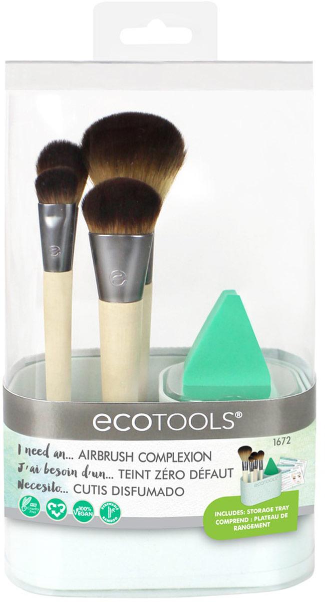 EcotoolsНабор кистей для макияжа Airbrush Complexion Kit EcoTools